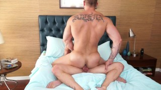 Randyblue.com That time HUNK Austin Wolf let his BF Tyler Wolf cum inside